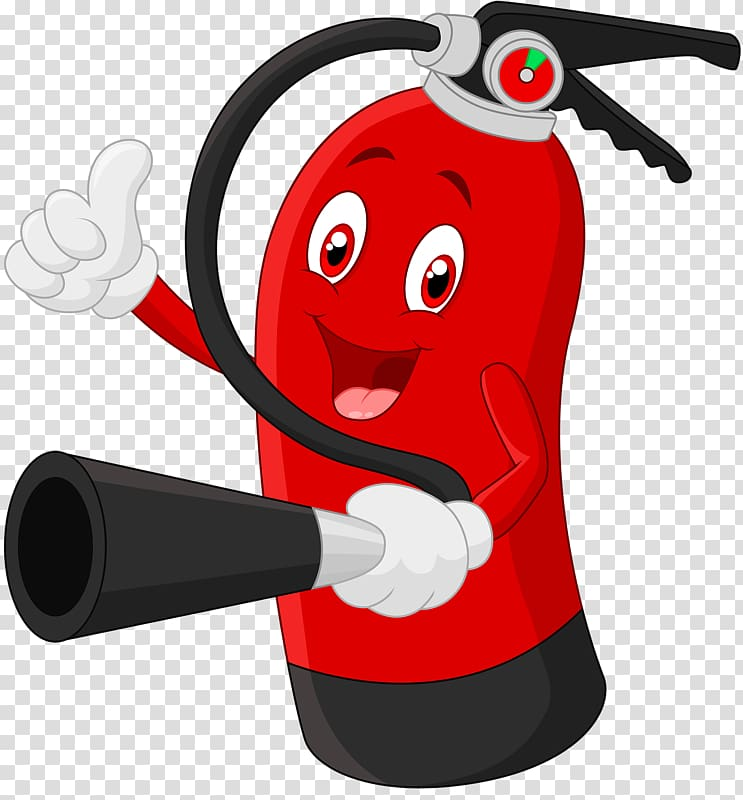 fire extinguisher cartoon stock illustration fire extinguisher